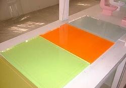 彩色玻璃烤漆